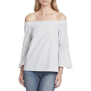 ✨Women's Striped Off-The-Shoulder Casual Top✨